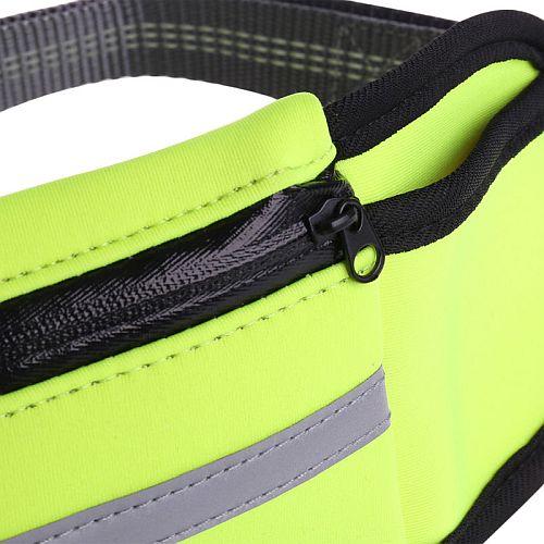 Поводок для бега с собакой и сумкой на поясе