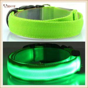 Светящийся ошейник SENYE зеленый