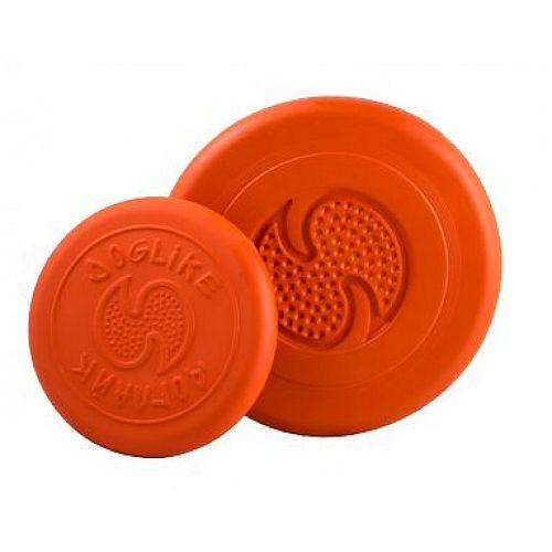 ДОГЛАЙК Летающая тарелка д/собак всех пород (оранжевый) *10