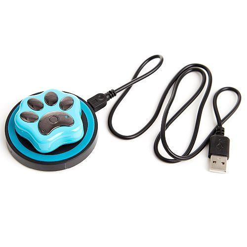 RF-V32 голубой с беспроводной зарядкой GPS трекера для собак и кошек