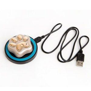 RF-V32 золотой с беспроводной зарядкой GPS трекера для собак и кошек