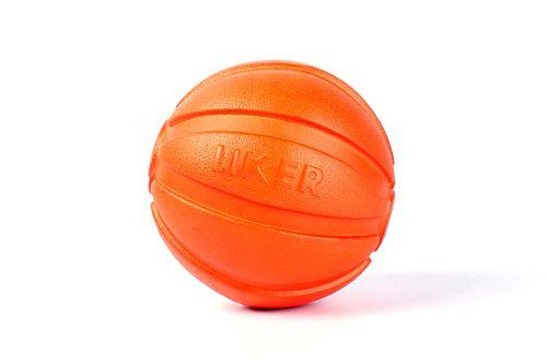 "LIKER Мячик Лайкер, оранжевый/18 Мячик ""Liker"" - игрушка для собак"