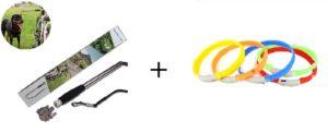 Акция комплект велоспрингер и светящийся ошейник скидка 15%
