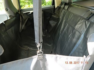 Автогамак для перевозки собак в автомобиле. Вариант - гамак полный