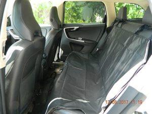 Автогамак для перевозки собак в автомобиле. Вариант - чехол полный