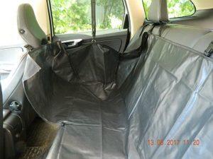 Автогамак для перевозки собак в автомобиле. Вариант - гамак 1/2 чехол 1/2