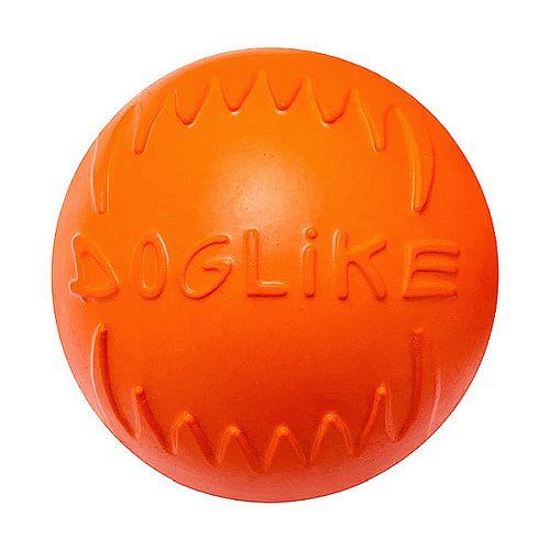 DM 7341 ДОГЛАЙК Мяч малый д/собак всех пород (оранжевый) *10