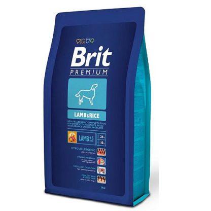 Brit Premium Lamb&Rice д/взрослых собак Всех пород гипоаллергенный Ягненок/рис 3кг