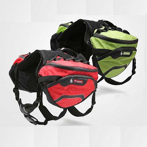 Сумка-рюкзак съемная для собак на шлейке