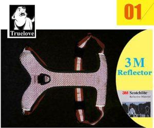 Шлейка для собак Truelove с мягкой подкладкой. Светоотражающие элементы