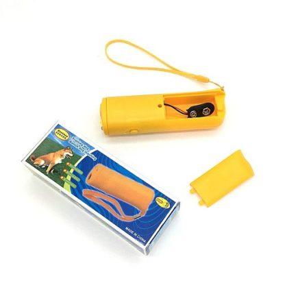 Электронный отпугиватель собак отсек для батарейки