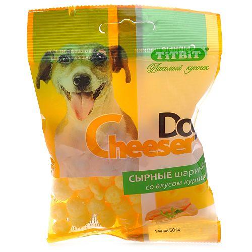Сырные шарики CheeserDog со вкусом курицы