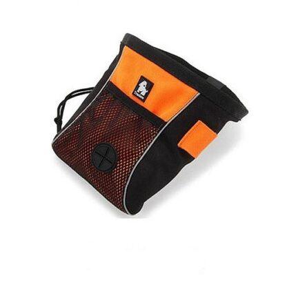 Сумочка для лакомств и дрессировки Truelove Оранжевая