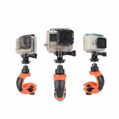 Поворотное крепление камеры GoPro на велосипед для всех типов экшен камер