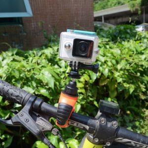Поворотное крепление камеры GoPro на велосипед фото
