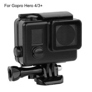 Водонепроницаемый черный корпус для GoPro Hero вид