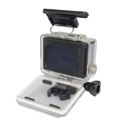 Водонепроницаемый корпус для GoPro Hero установка