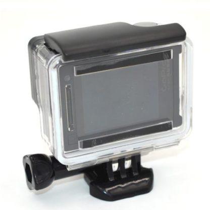 Водонепроницаемый корпус для GoPro Hero вид сзади
