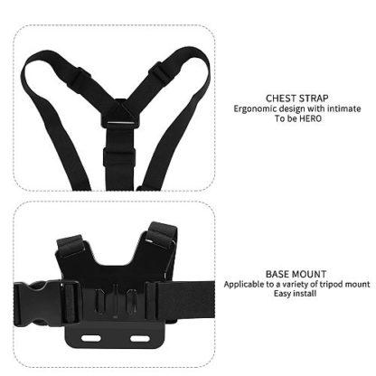 Крепление камеры GoPro на грудь крепление