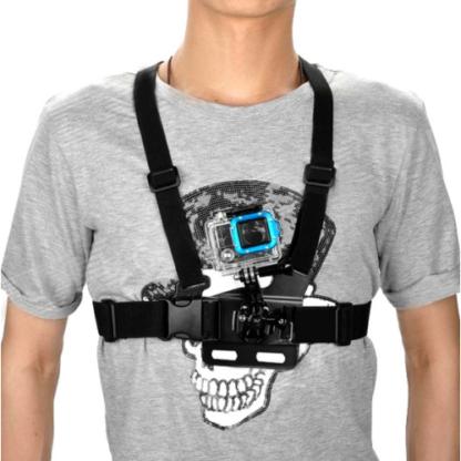 Крепление камеры GoPro на грудь общий вид