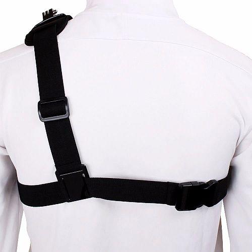 Go-Pro крепление камеры на плечо вид сзади