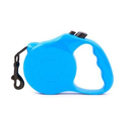 Рулетка для собак R732 5 метров синяя