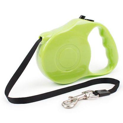 Рулетка для собак R732 5 метров зеленая