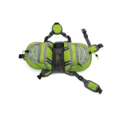 Сумка-рюкзак собаке на спину для груза общий вид
