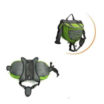 Сумка-рюкзак на спину собаке для походов