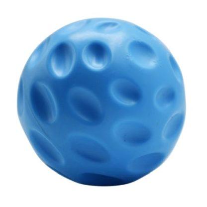 Плавающий мячик для собак синий