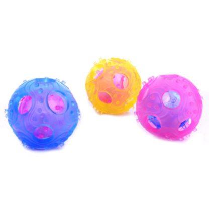 Жевательный мячик погремушка для собак