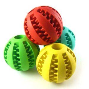 Игрушка для собак мячик разные цвета