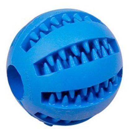 Игрушка для собак мячик синий