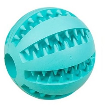 Игрушка для собак мячик бирюзовый