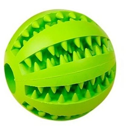 Игрушка для собак мячик зеленый