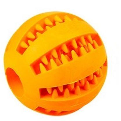 Игрушка для собак мячик оранжевый