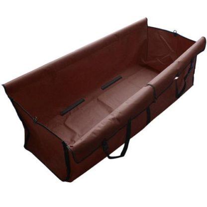 Автогамак для собак коричневый