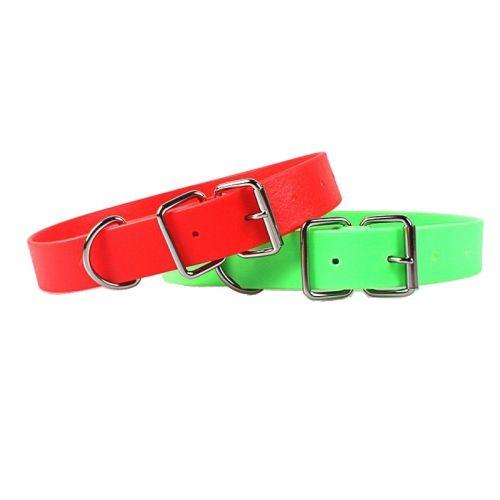 Ошейник для собак из биотана яркие цвета