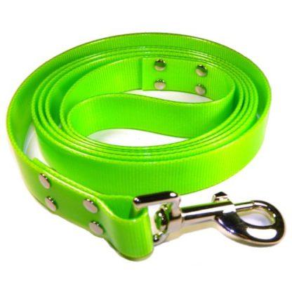 Поводок из биотана зелёный 2 метра с петлей ручкой