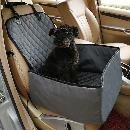 Автогамак для перевозки собак на половину сиденья