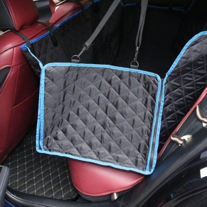 Автогамак для перевозки любых собак стеганный усиленный с окантовкой