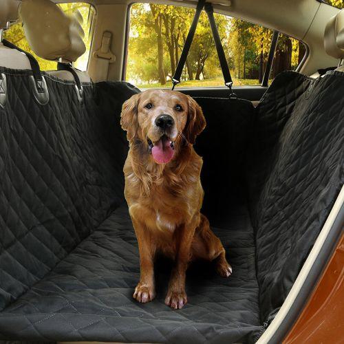 Автогамак для перевозки любых собак стеганный усиленный