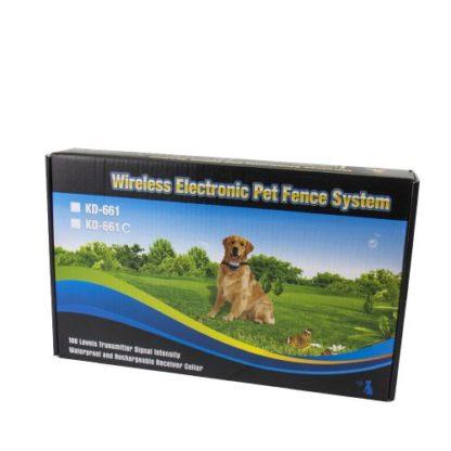 Электронный беспроводной забор для собак KD661 упаковка