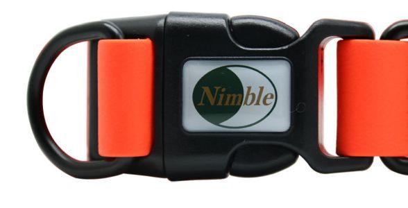 Ошейник Nimble с защитой от воды прочная пластиковая фурнитура