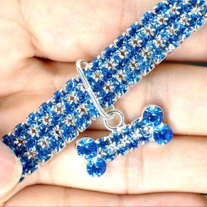 Ошейник ожерелье для собак с косточкой
