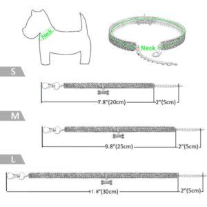 Ошейник ожерелье для любимой собаки с косточкой размеры