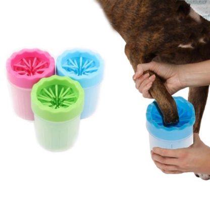 Лапомойка для собак портативная ручная