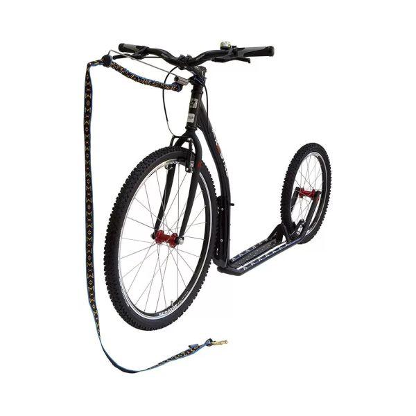 Велоудочка для байкджоринга крепление
