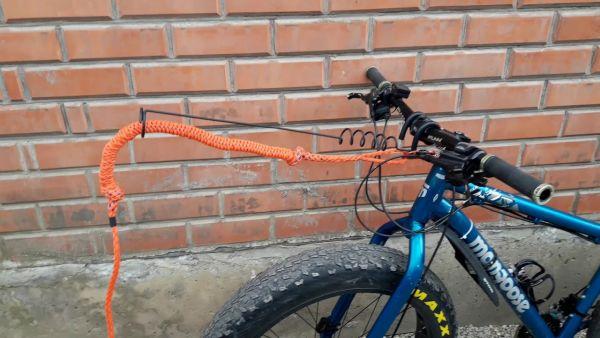 Велоудочка для байкджоринга с потягом