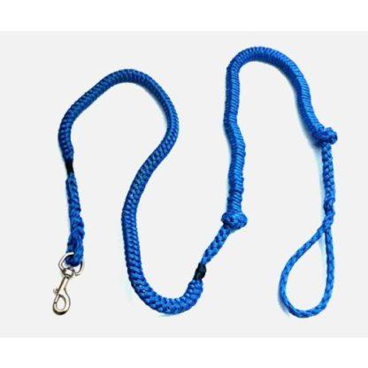 Потяг на одну собаку для скиджоринга и байкджоринга синий